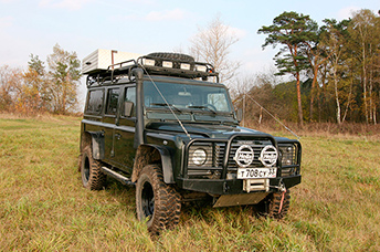 Тюнинг Land Rover Defender 110